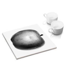 designersgroup - dg-selection Untersetzer - mit Obst Stillleben-Motiv: Apfel