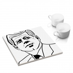 designersgroup - dg-selection Untersetzer - Politiker: John F. Kennedy