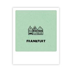 Pickmotion - Mini Pics - kleine Grußkarte - 90x110mm - Frankfurt