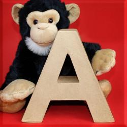 ABCebra Magnet A wie AFFE - rot