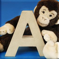 ABCebra Magnet A wie AFFE - blau