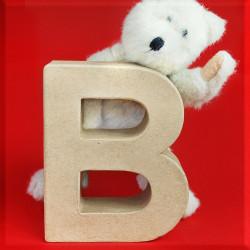 ABCebra Magnet B wie BÄR - rot