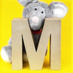 ABCebra Magnet M wie MAUS - gelb