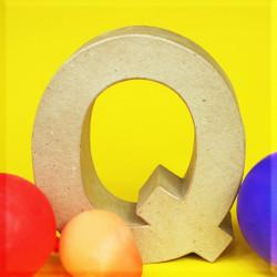 ABCebra Magnet Q wie Quatsch - gelb
