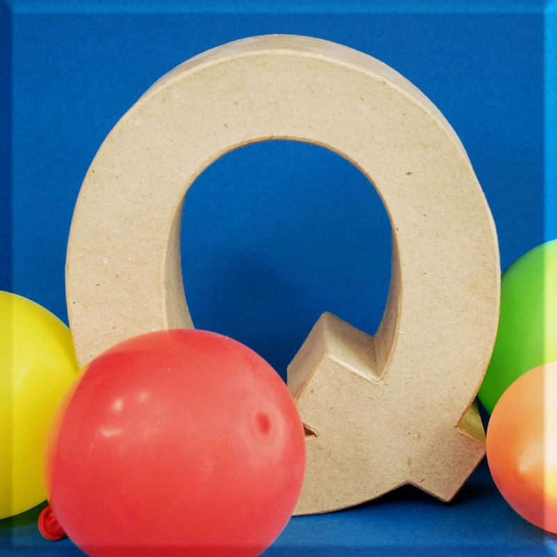 ABCebra Magnet Q wie Quatsch - blau