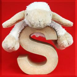 ABCebra Magnet S wie Schaf - rot