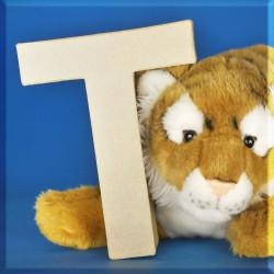 ABCebra Magnet T wie Tiger - blau