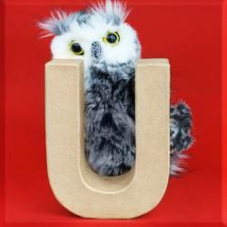 ABCebra Magnet U wie Uhu - rot