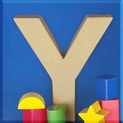 ABCebra Magnet Y wie Yvonne - blau