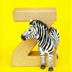 ABCebra Magnet Z wie Zebra - gelb