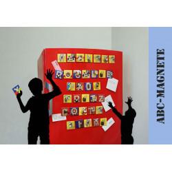 ABCebra Magnet O wie Orang Utan - blau
