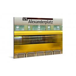 Michael Belhadi - Print on aluminum - 02 Durchfahrt
