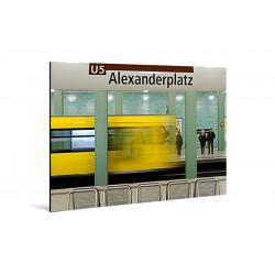 Michael Belhadi - Druck auf Aludibond - Leaving Alex