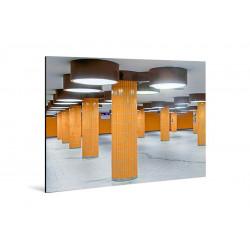 Michael Belhadi - Druck auf Aludibond - Orange 02