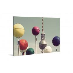 Michael Belhadi - Print on aluminum - 09 Kugeln 02
