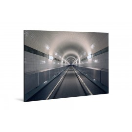 Michael Belhadi - Print on aluminum - 11 Alter Elbtunnel