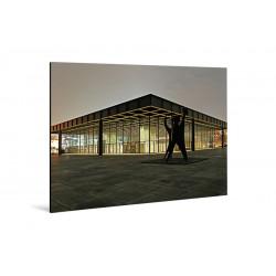 Michael Belhadi - Druck auf Aluminium - 31 Neue Nationalgalerie 1