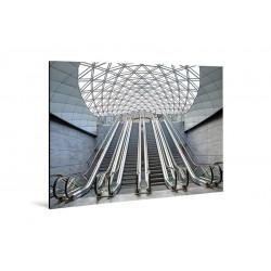 Michael Belhadi - Druck auf Aluminium - 35 Triangeln