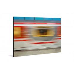 Michael Belhadi - Druck auf Aluminium - 38 Tbilisi Metro