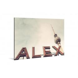 Michael Belhadi - Druck auf Aluminium - 45 Alex