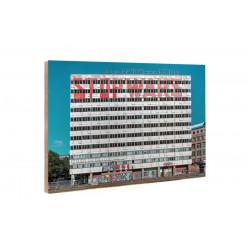 Michael Belhadi - Wooden block - 22 Haus der Statistik 02