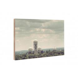 Michael Belhadi - Wooden block - 28 Teufelsberg