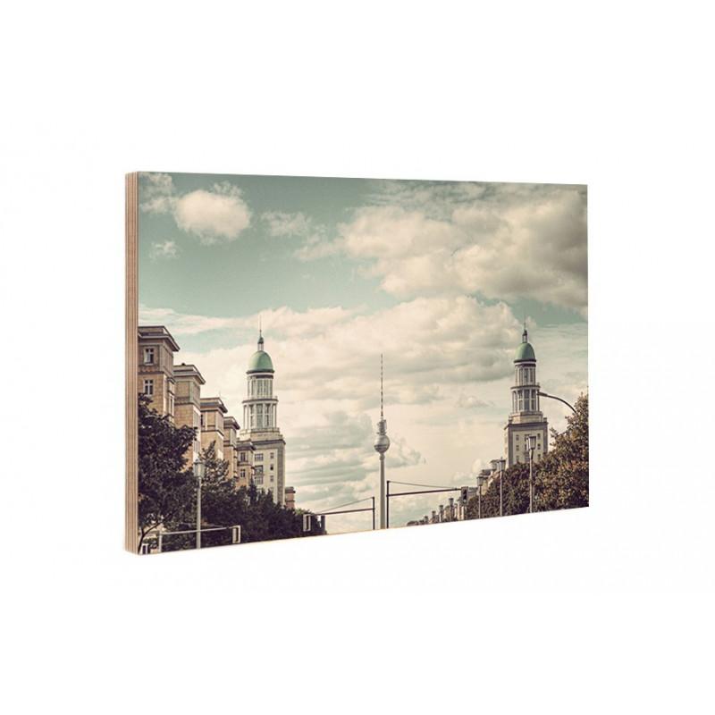 Michael Belhadi - Holzblock - 29 Frankfurter Tor