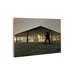 Michael Belhadi - Holzblock - 31 Neue Nationalgalerie 1