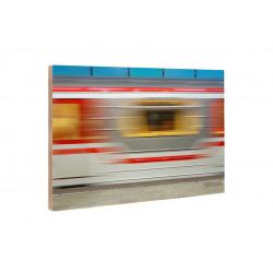 Michael Belhadi - Holzblock - 38 Tbilisi Metro