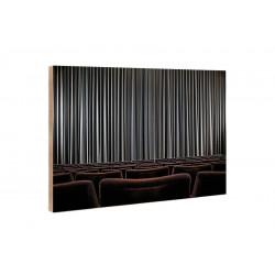 Michael Belhadi - Holzblock - 43 Vorhang International 2