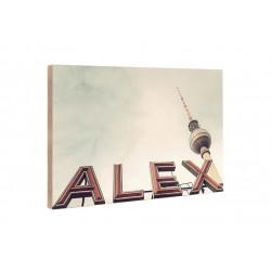 Michael Belhadi - Holzblock - 45 Alex
