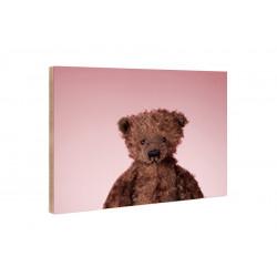 Kleine Freunde - Wooden Block - 10x15 cm - Aron