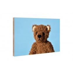 Kleine Freunde - Wooden Block - 10x15 cm - Fridolin