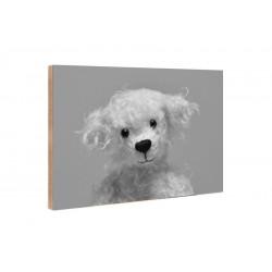 Kleine Freunde - Wooden Block - 10x15 cm - Johannes