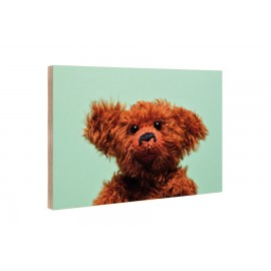 Kleine Freunde - Holzblock - 10x15 cm - Eric