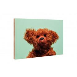 Kleine Freunde - Wooden Block - 10x15 cm - Eric