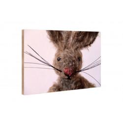 Kleine Freunde - Holzblock - 10x15 cm - Bruno
