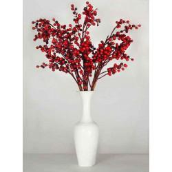 Les Fleurs - Druck auf Canvas - Rote Beeren
