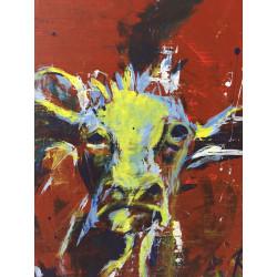 KRLART - Druck auf Canvas - Cow