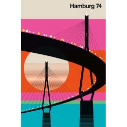 Bo Lundberg - Print on Aludibond - Hamburg