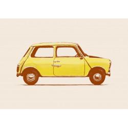 Florent Bodart - Print on Aludibond - Florent Bodart - Druck auf Aludibond - 06 Mister Bean's Mini
