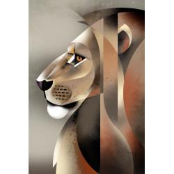 Dieter Braun - Print on Aludibond - 04 Lion