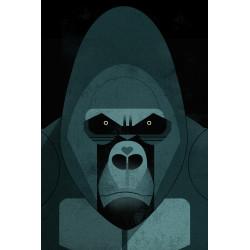 Dieter Braun - Print on Aludibond - 05 Gorilla