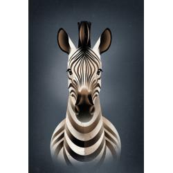 Dieter Braun - Druck auf Aludibond - 09 Zebra