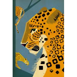 Dieter Braun - Print on Aludibond - 10 Leopard