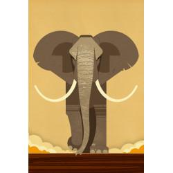 Dieter Braun - Druck auf Aludibond - 11  Elefant