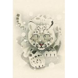 Dieter Braun - Print on Aludibond - 24 Snow Leopard