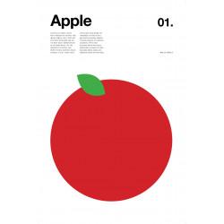 Nick Barclay - Print on Aludibond - Fruit Collection - 01 Apple