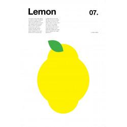 Nick Barclay - Print on Aludibond - Fruit Collection - 07 Lemon