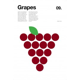 Nick Barclay - Print on Aludibond - Fruit Collection - 09 Grapes